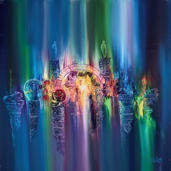Underwater Treasures III by Philip Gray -  sized 36x36 inches. Available from Whitewall Galleries